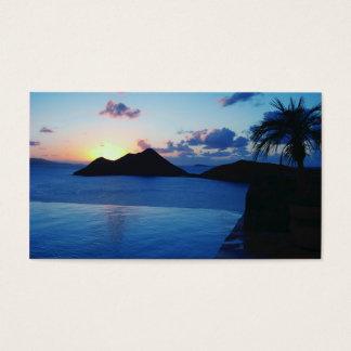 Cartes De Visite Île privée de BVI