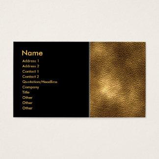 Cartes De Visite Image de cuir de Brown