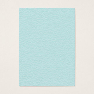 Cartes De Visite Image de cuir léger de turquoise