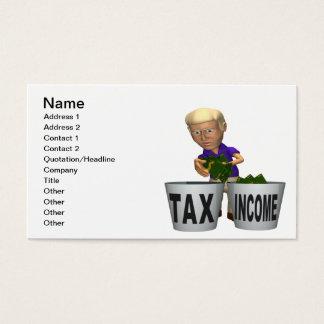Cartes De Visite Impôt sur le revenu