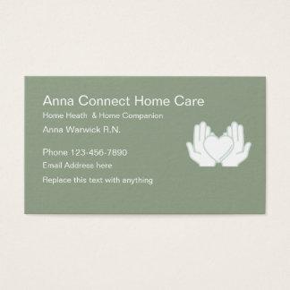 Cartes De Visite Infirmier autorisé de soins à domicile