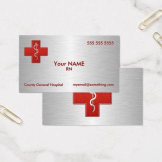 Cartes De Visite Infirmière de luxe