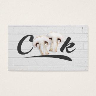 Cartes De Visite Instructeur/chef de cuisine