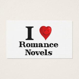 Cartes De Visite J'aime les romans Romance