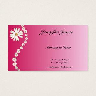 Cartes De Visite Jolie télécarte de marguerite