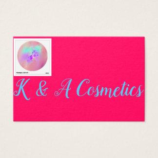 Cartes De Visite K et cosmétiques