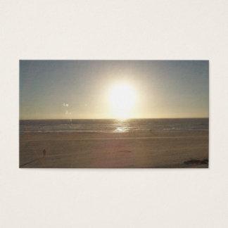 Cartes De Visite La plage est mes affaires