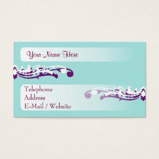 Cartes De Visite La vie bleue