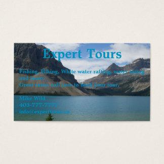 Cartes De Visite Lac bow
