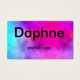 Cartes De Visite Large_tie-dye_highres, Daphne, café d'étoiles de