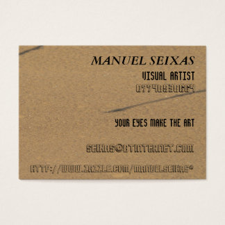 Cartes De Visite L'artiste visuel