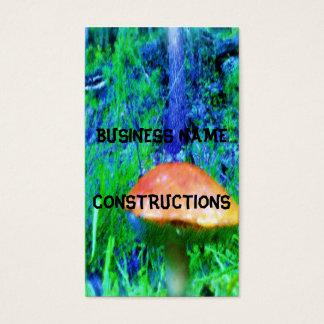 Cartes De Visite Le champignon