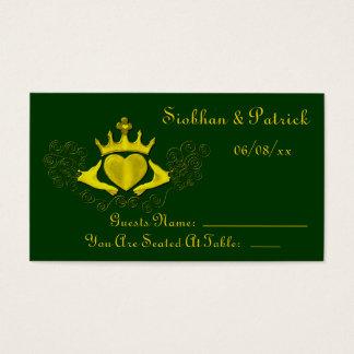 Cartes De Visite Le Claddagh (or) (mariage)