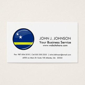 Cartes De Visite Le Curaçao rond diminuent