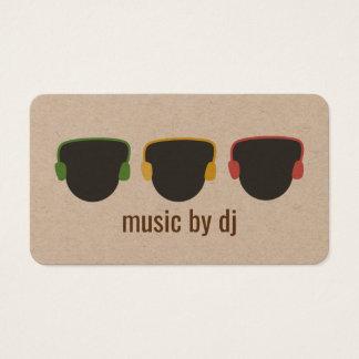 Cartes De Visite Le DJ émouvant