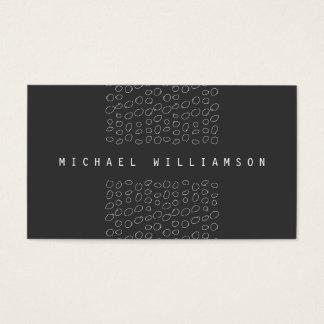 Cartes De Visite Le griffonnage minimal et moderne de concepteur