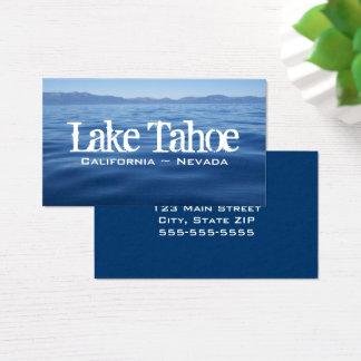 Cartes De Visite Le lac Tahoe