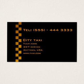 Cartes De Visite Le noir simple en or marque avec des lettres la