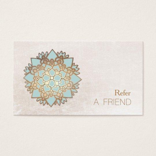 Cartes De Visite Le Therapeute Massage Lotus Bleu Se