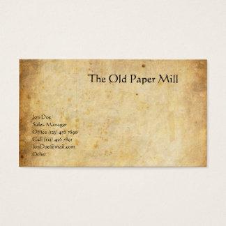Cartes De Visite Le vieux moulin à papier