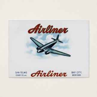 Cartes De Visite Les années 1930 vintages d'avion de ligne