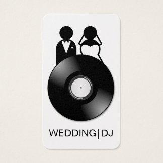 Cartes de visite les épousant professionnels de