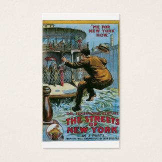 """Cartes De Visite """"Les rues de New York """""""