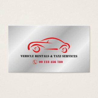 Cartes De Visite Location de VÉHICULE et services de taxi