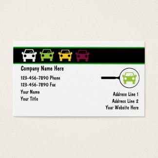Cartes De Visite Logos des véhicules à moteur de voiture