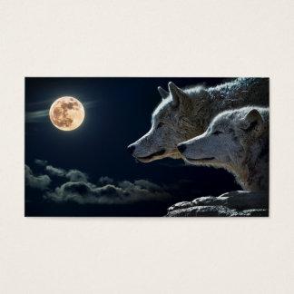 Cartes De Visite Loups de minuit