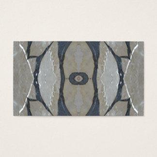 Cartes De Visite Lumière de conception de kaléidoscope et motif