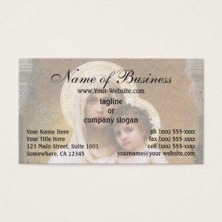 Cartes De Visite Madonna des roses par William Adolphe Bouguereau