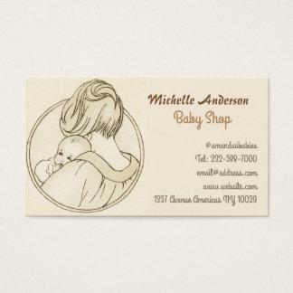 Cartes De Visite Magasin de bébé et soin de bébé