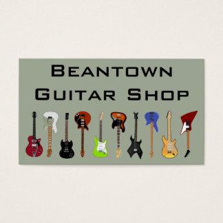 Cartes De Visite Magasin de guitare de Beantown