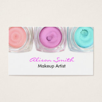 Cartes De Visite Makeup artist