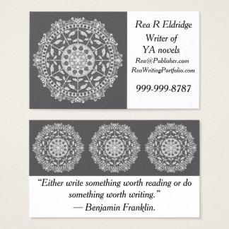 Cartes De Visite Mandala de lamantin