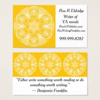 Cartes De Visite Mandala de miel