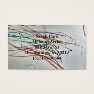Cartes De Visite Maquillage/carte de styliste en coiffure