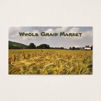 Cartes De Visite Marché de grain entier
