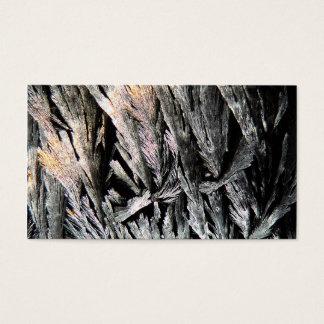 Cartes De Visite Médecine sous un microscope, cristaux de nystatine