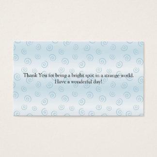 Cartes De Visite Merci