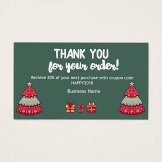 Cartes De Visite Merci pour votre notice explicative d'ordre