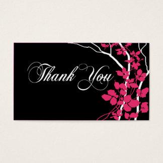 Cartes De Visite Mercis de Special d'étiquette de cadeau de Merci