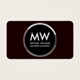 Cartes De Visite Métal simple frais professionnel moderne élégant