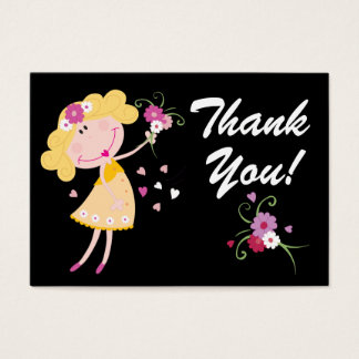 Cartes De Visite Mini remerciez Yous ! SRF