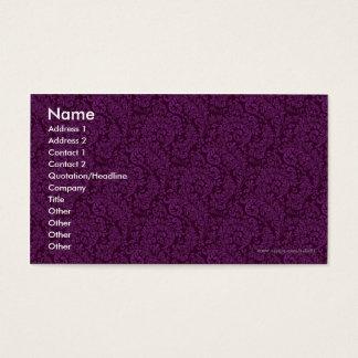 Cartes De Visite Modèle de motif
