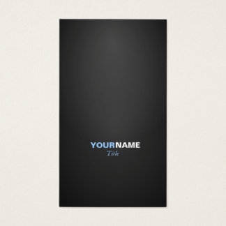 Cartes De Visite Modern font in two colors with