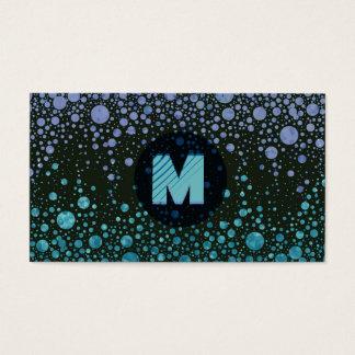 Cartes De Visite Monogramme moderne