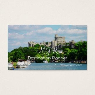 Cartes De Visite Monogramme, planificateur de destination, vacances
