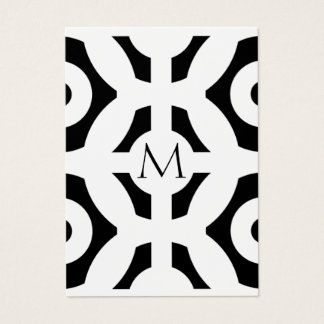 Cartes De Visite Motif géométrique